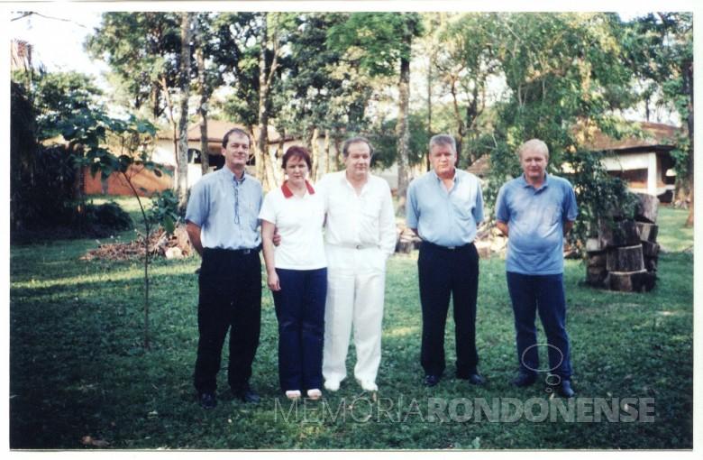 Os irmãos Matias, Ingrun , Dr. Hippi(Dietrich Rupprecht), Dieter Leonard e Pedro, em 2002.
