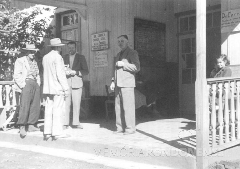 Entrada do Hospital Boa Esperança, Ipira, SC, em 1951