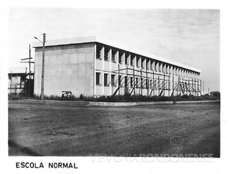 Escola Normal, 1980.