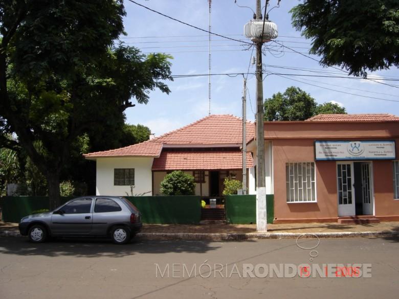 Casa do professor Waldomiro Liessem, à Rua Paraná, próxima a Matriz Católica, em 2006.