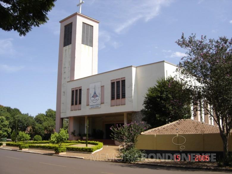 Igreja da Comunidade Evangélica Martin Luther, em 2006.